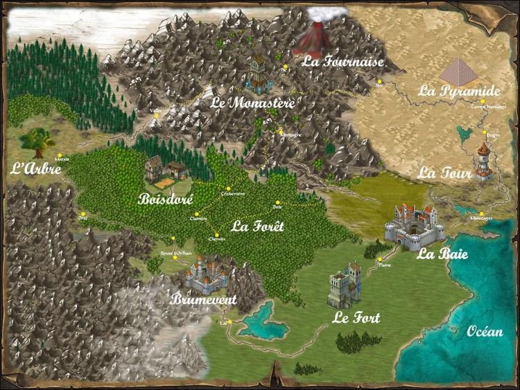 Carte d'Odyssée